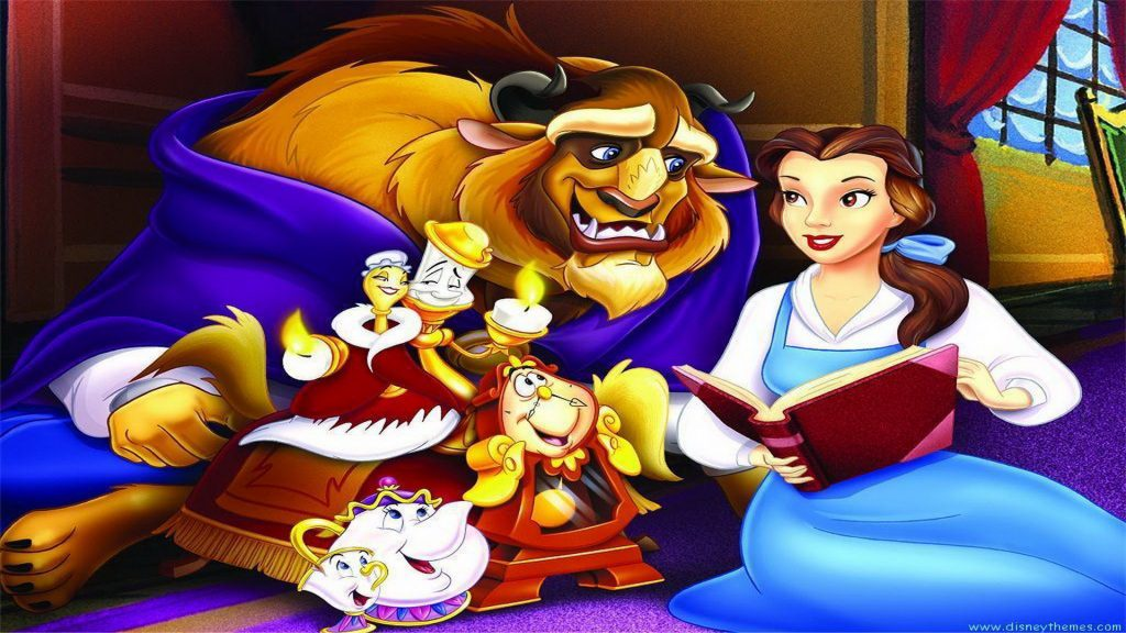 Beauty And The Beast Full HD Wallpaper