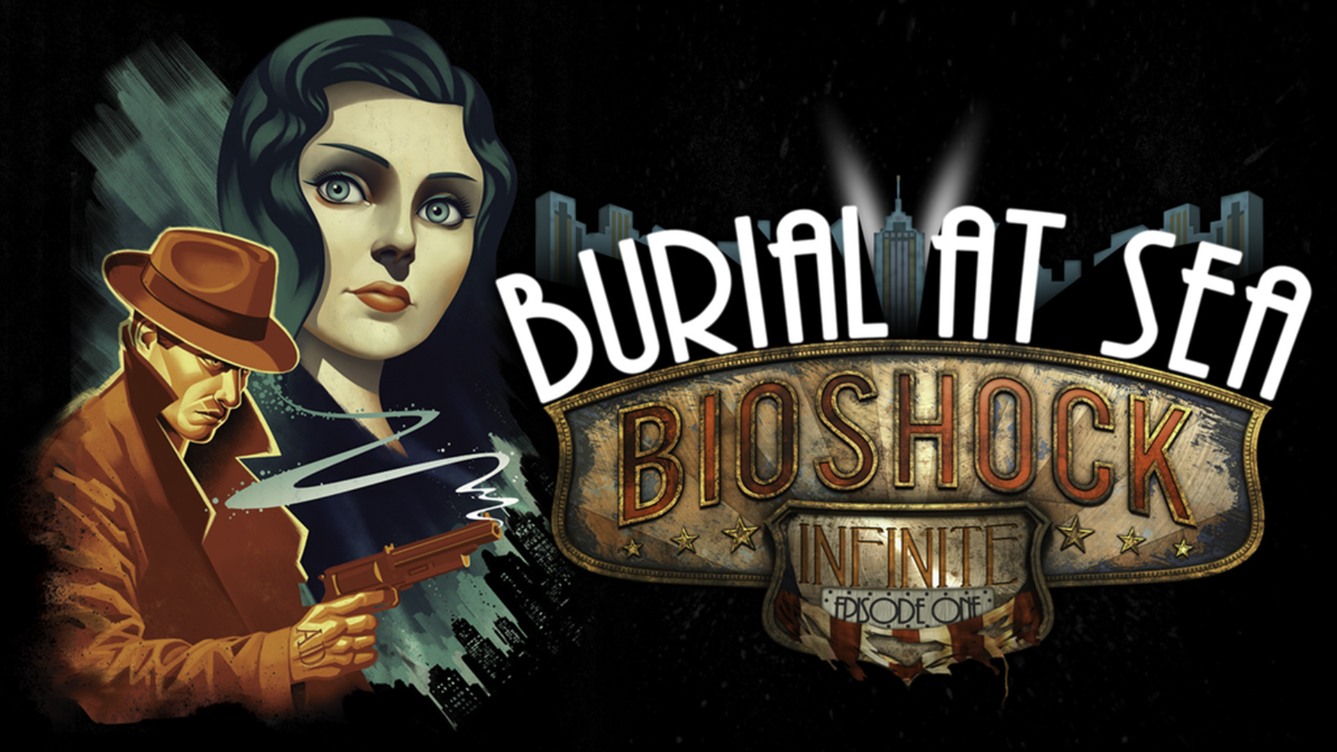 BioShock Infinite Burial At Sea Full HD Wallpaper