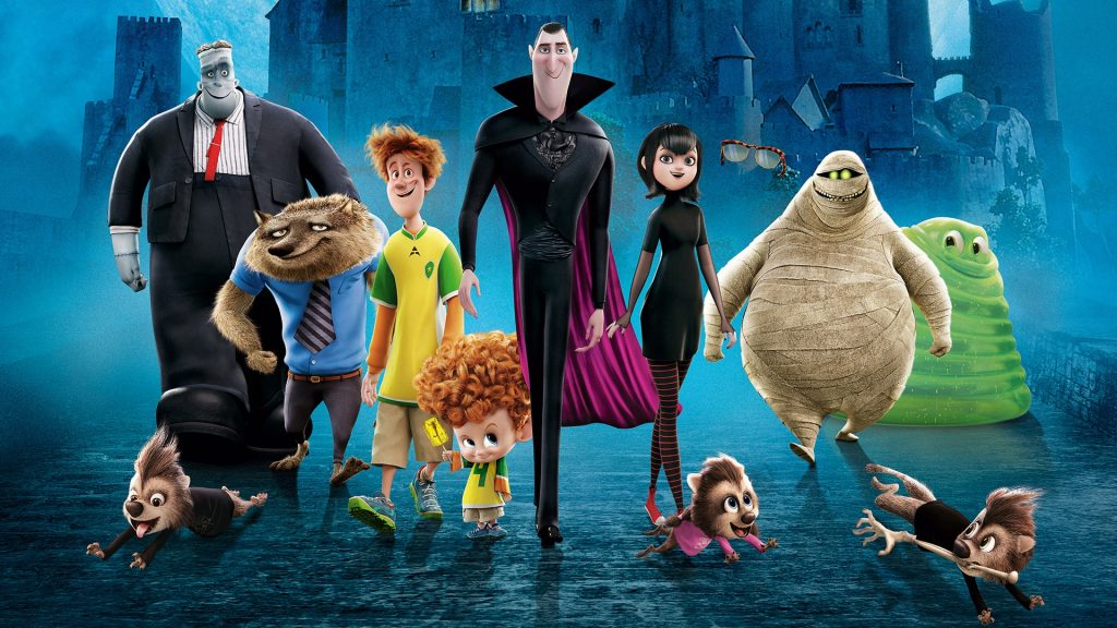 Hotel Transylvania 2 Full HD Wallpaper