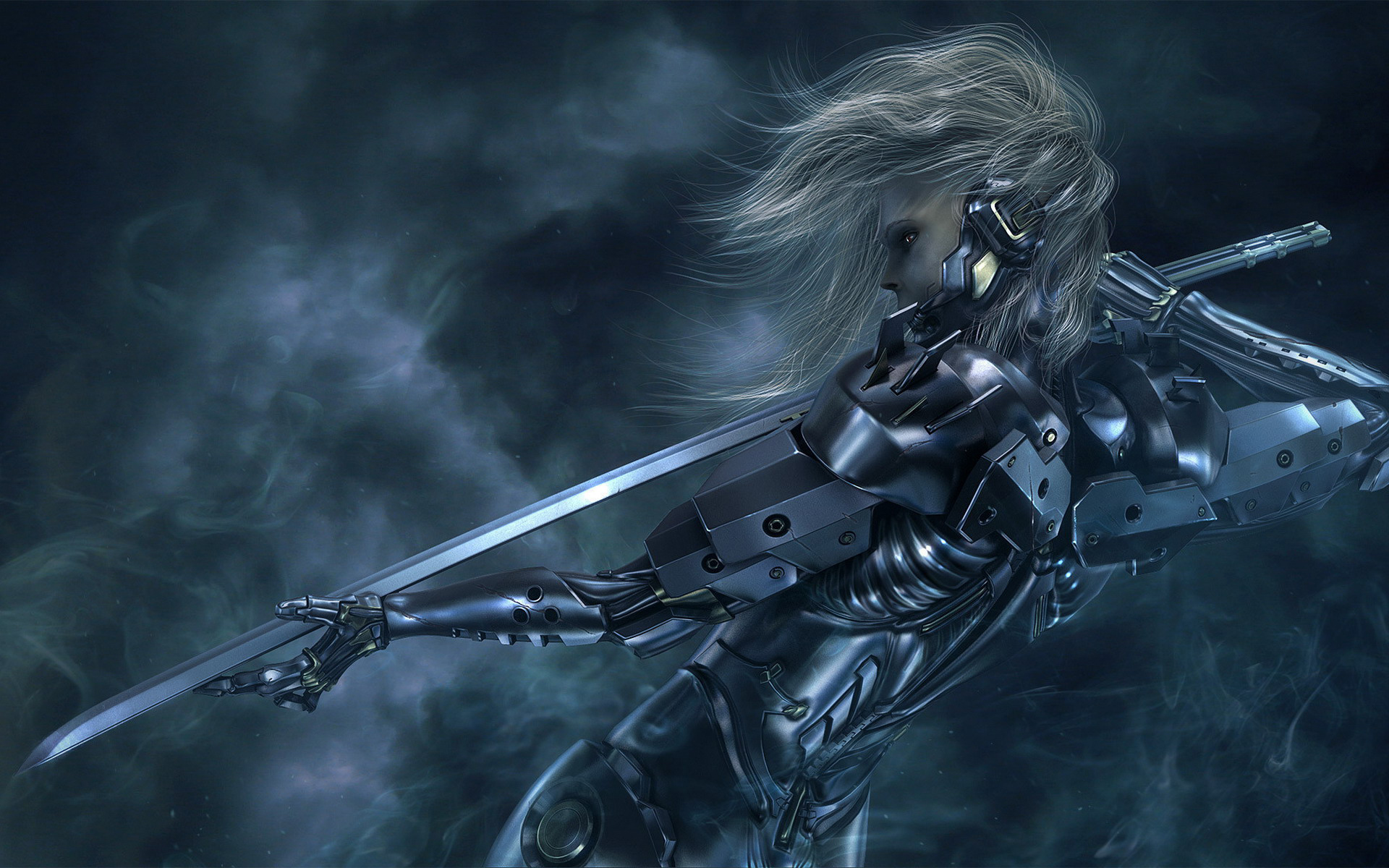 42 Hd Raiden Wallpaper On Wallpapersafari: Metal Gear Solid Wallpapers, Pictures, Images