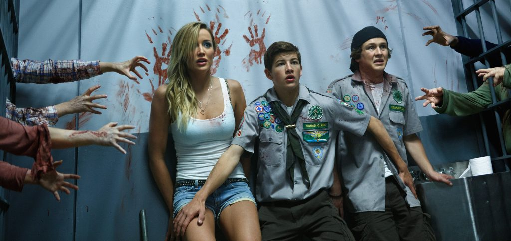 Scouts Guide To The Zombie Apocalypse Wallpaper