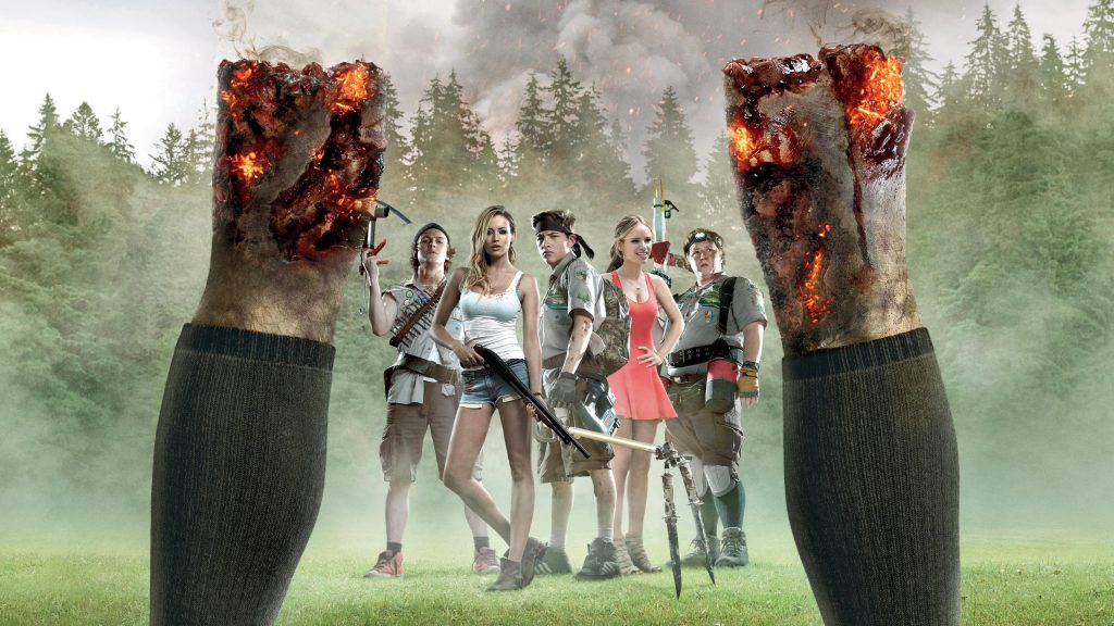 Scouts Guide To The Zombie Apocalypse 4K UHD Wallpaper