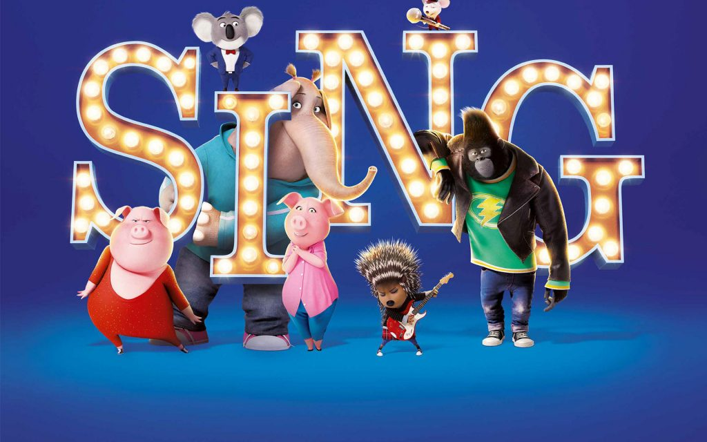 Sing Widescreen Wallpaper