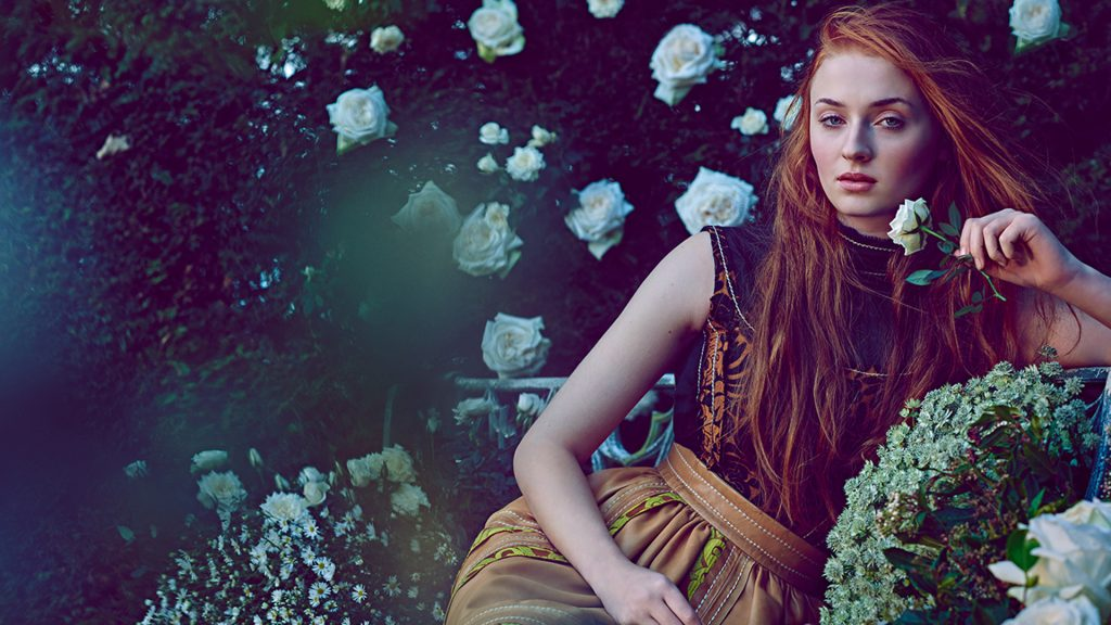 Sophie Turner Full HD Wallpaper