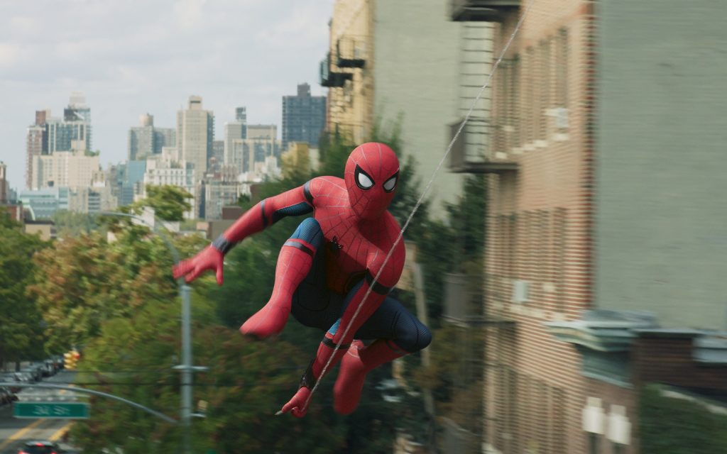 Spider-Man: Homecoming Widescreen Wallpaper