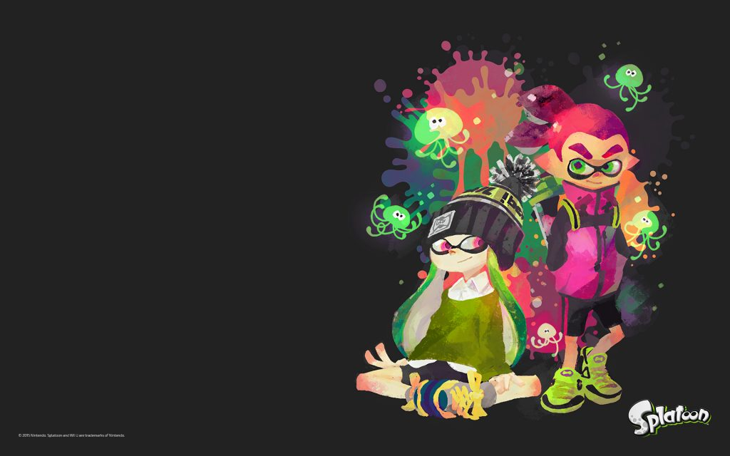 Splatoon Widescreen Wallpaper