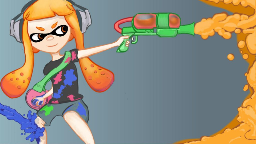 Splatoon Full HD Wallpaper