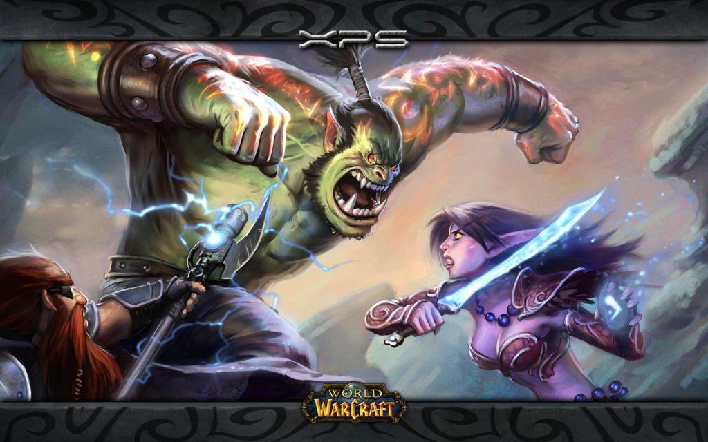 World Of Warcraft Widescreen Wallpaper
