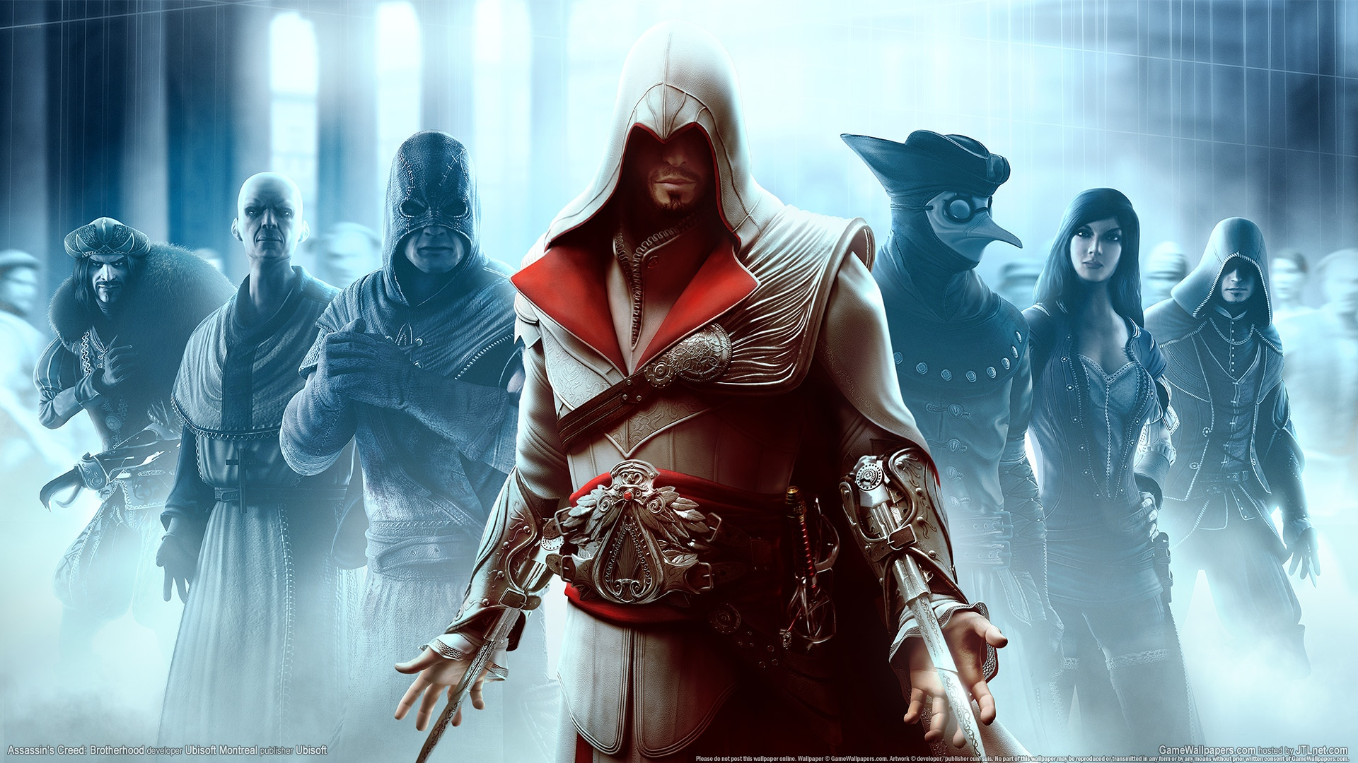 Assassins Creed Brotherhood Logo iPad Wallpaper Free iPad Retina