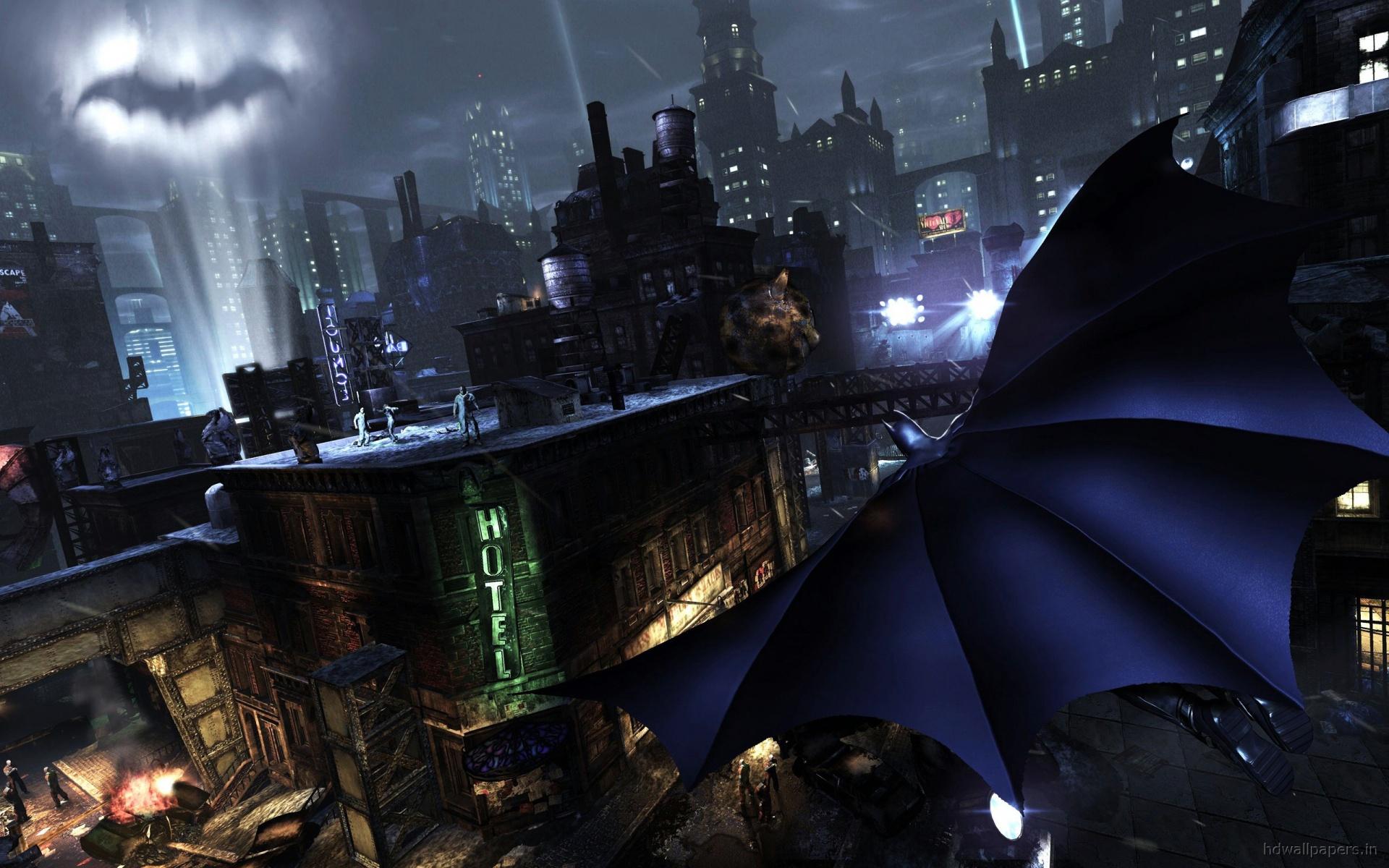 Batman Arkham City Widescreen Background