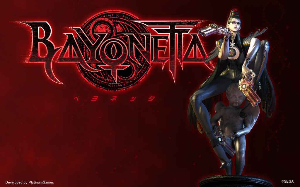 Bayonetta Widescreen Wallpaper