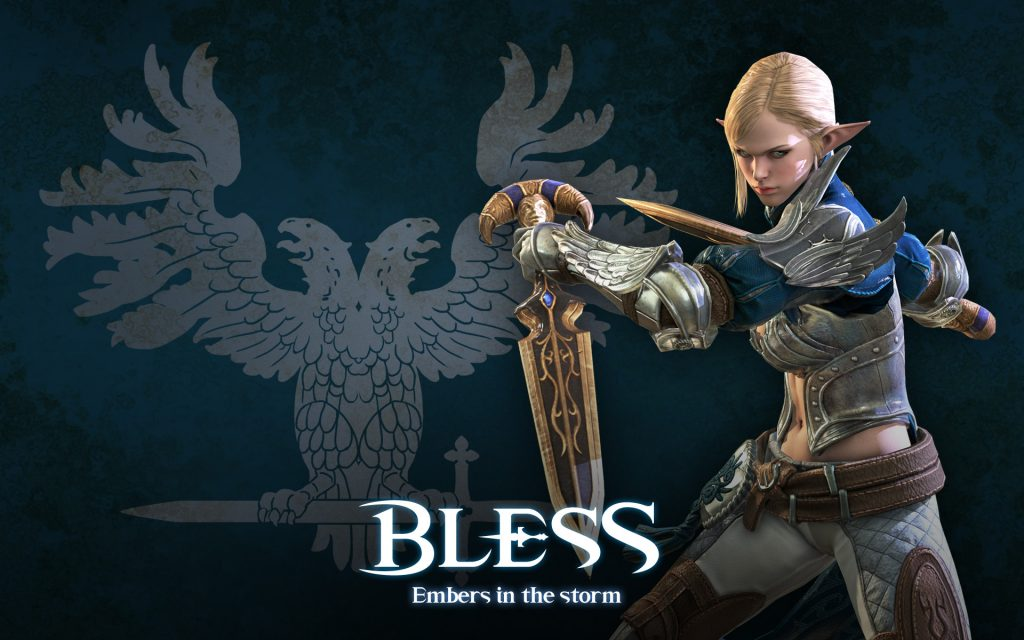 Bless Online Widescreen Wallpaper