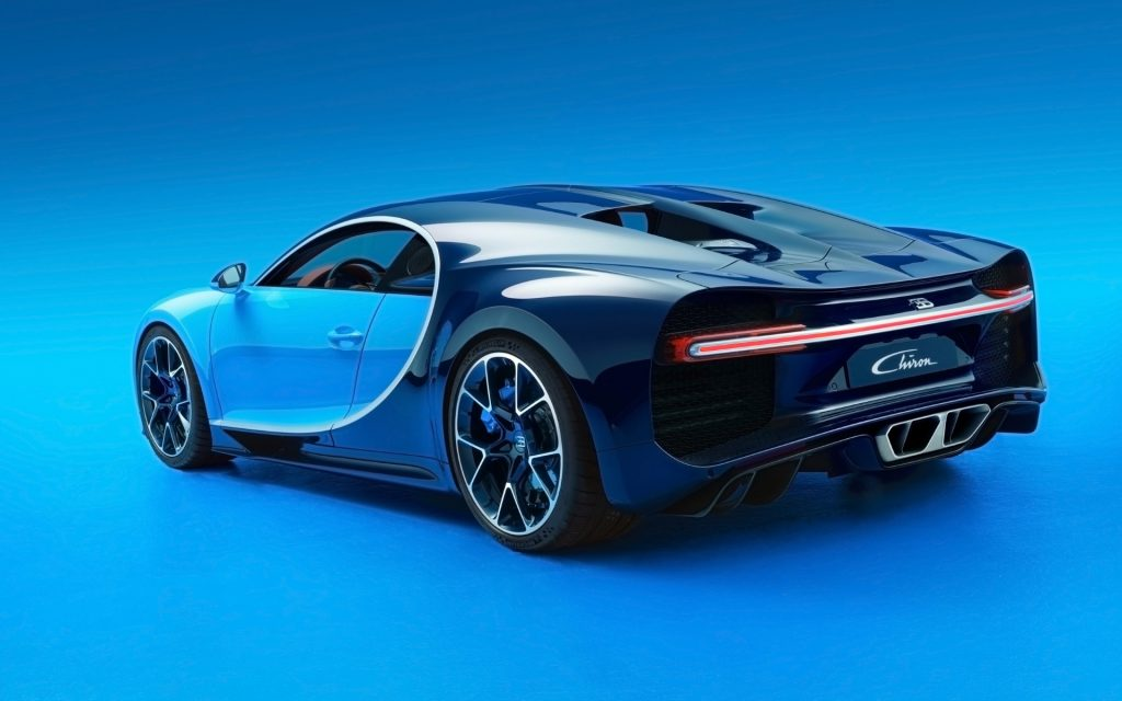 Bugatti Chiron Widescreen Wallpaper