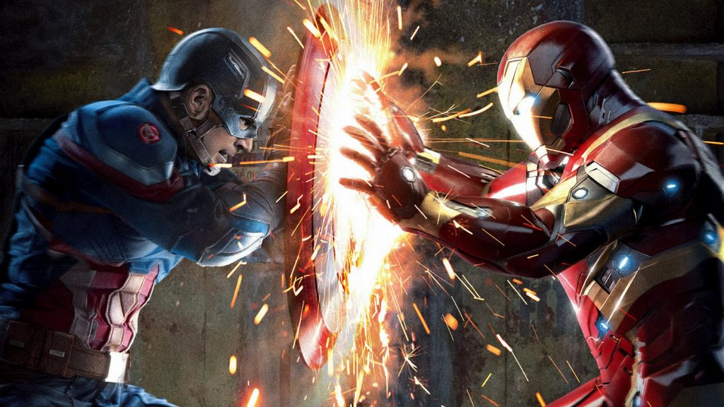 Captain America: Civil War Full HD Background