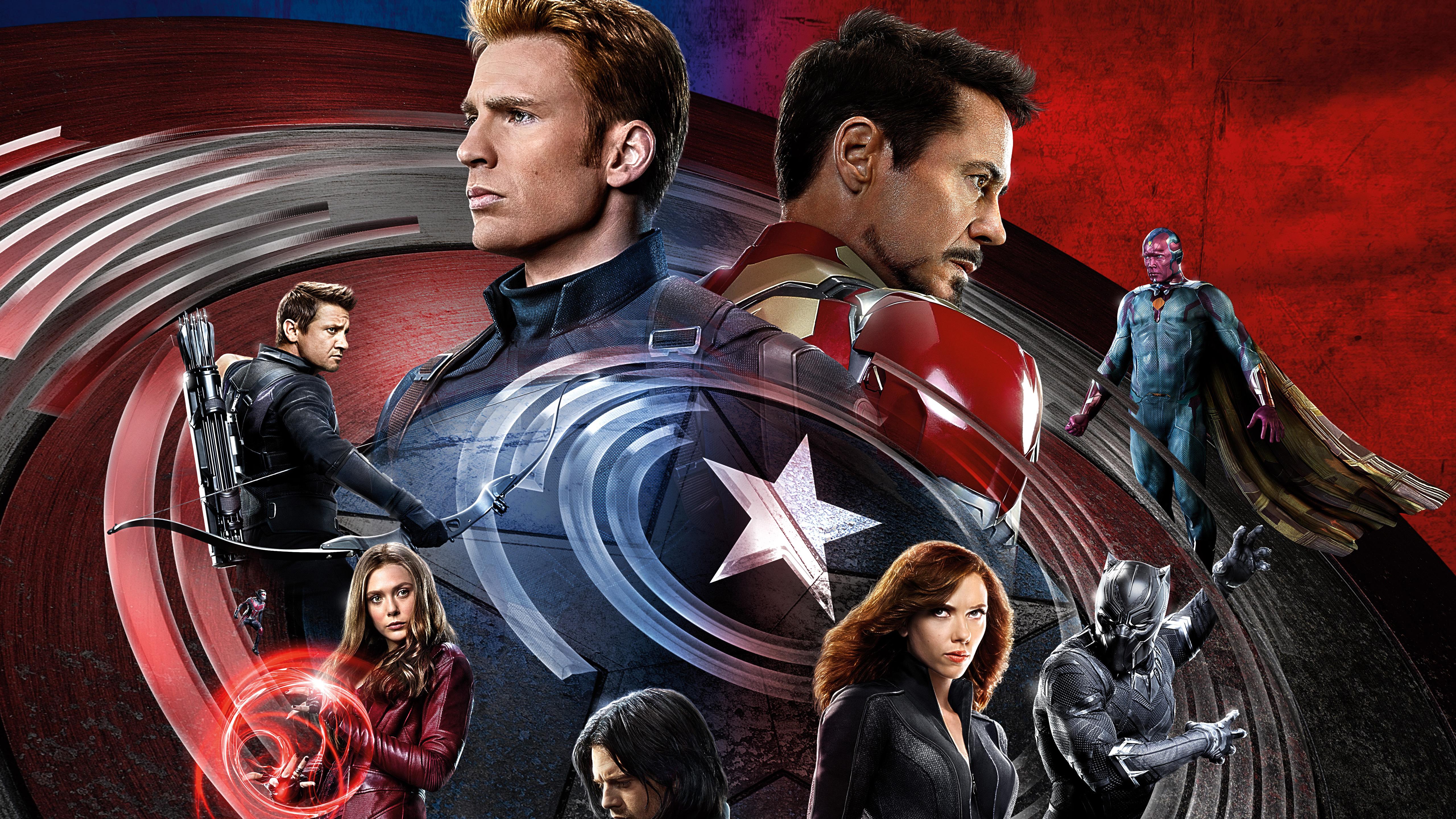 Captain America Civil War 4k: Captain America: Civil War Backgrounds, Pictures, Images