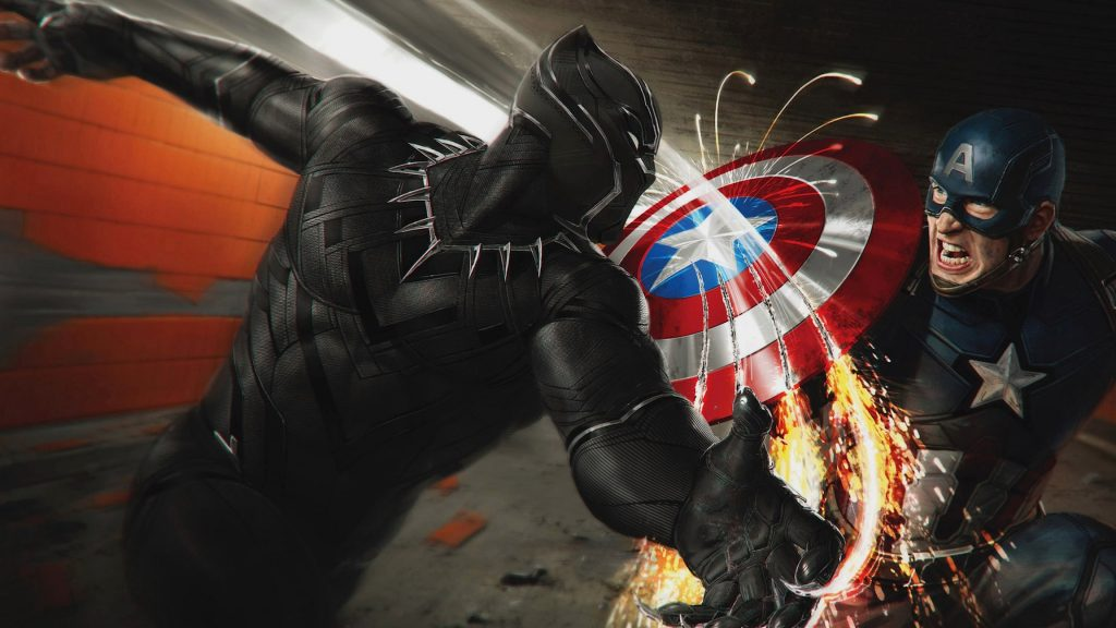Captain America: Civil War 4K UHD Background