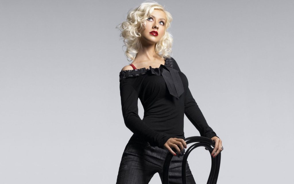 Christina Aguilera Widescreen Wallpaper