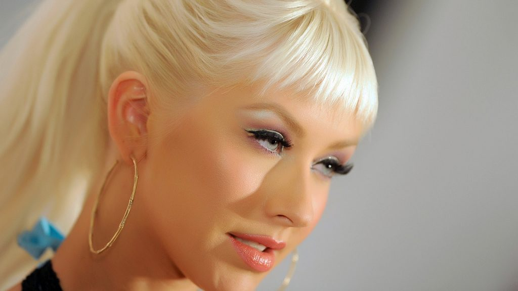 Christina Aguilera Full HD Wallpaper