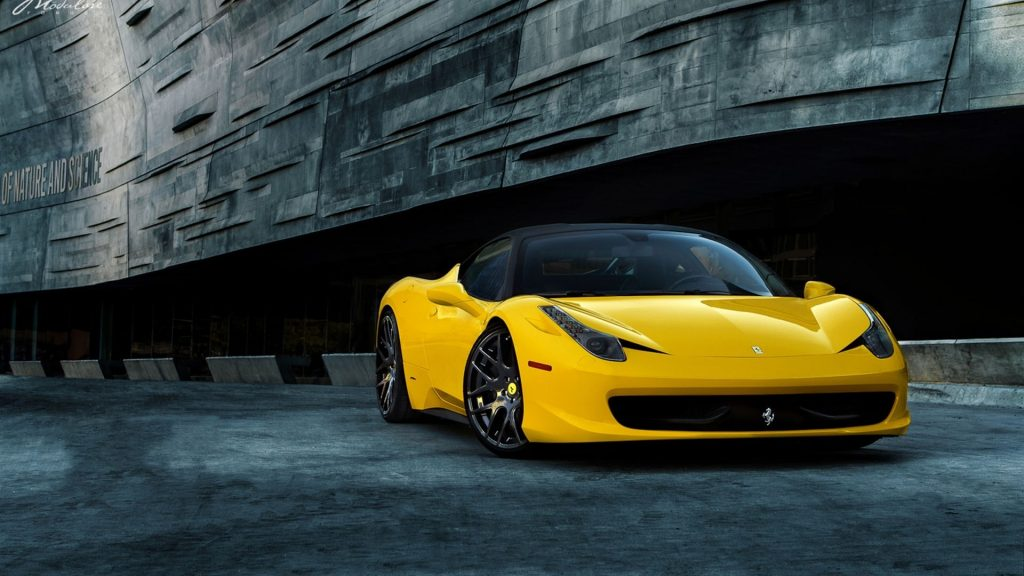 Ferrari 458 Italia Full HD Wallpaper