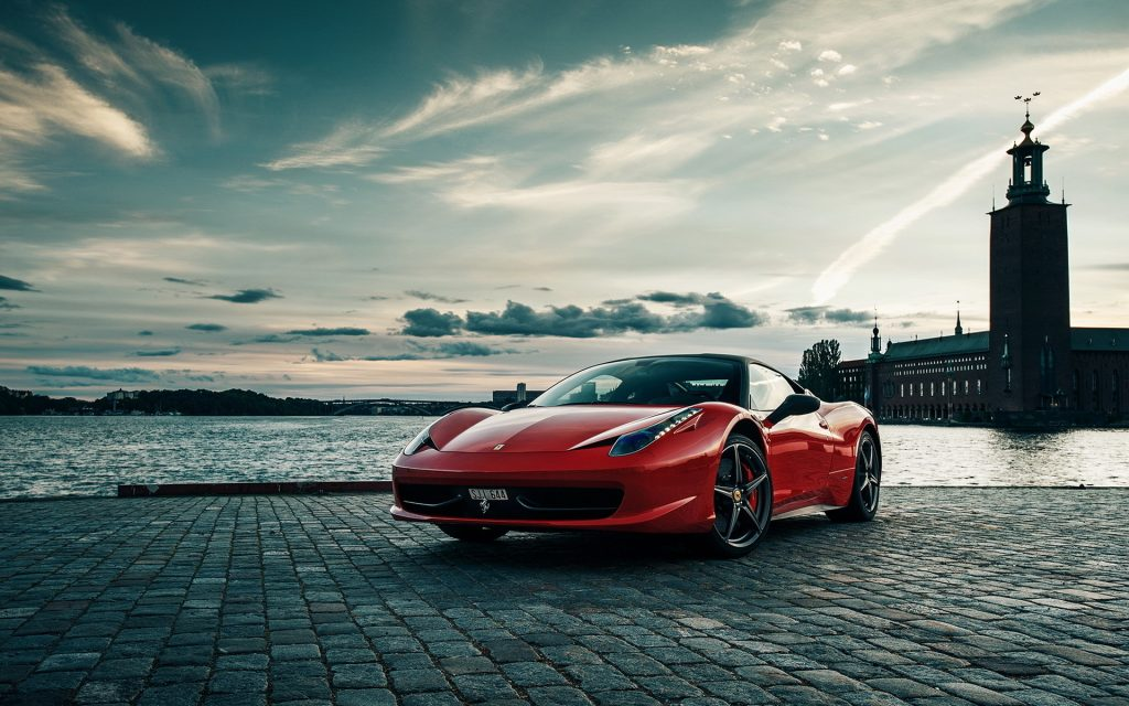 Ferrari 458 Italia Widescreen Wallpaper