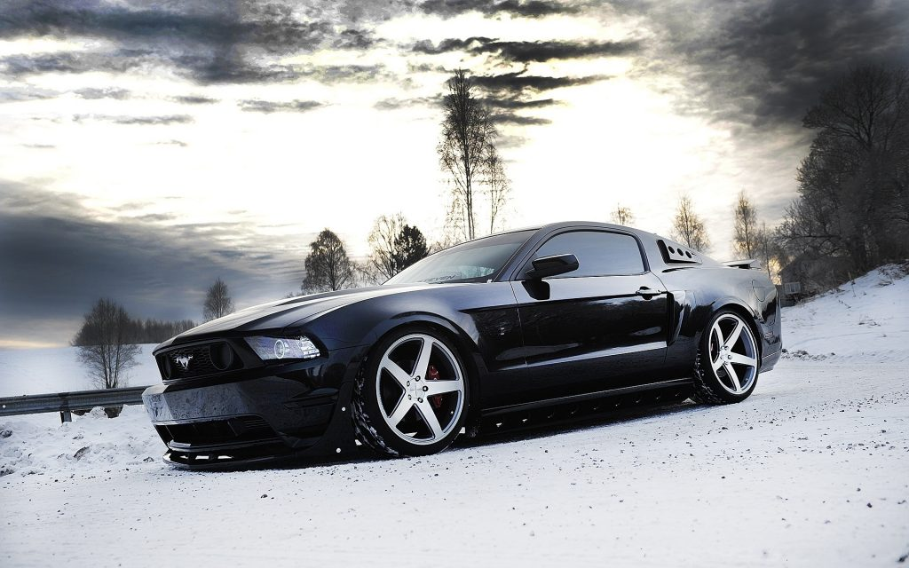 Ford Mustang Widescreen Wallpaper