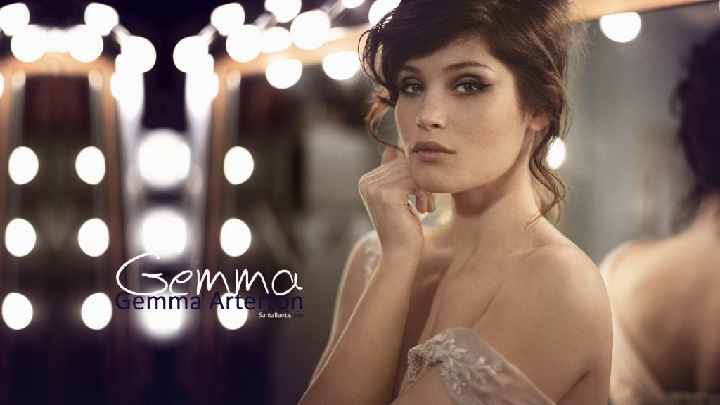 Gemma Arterton Full HD Wallpaper