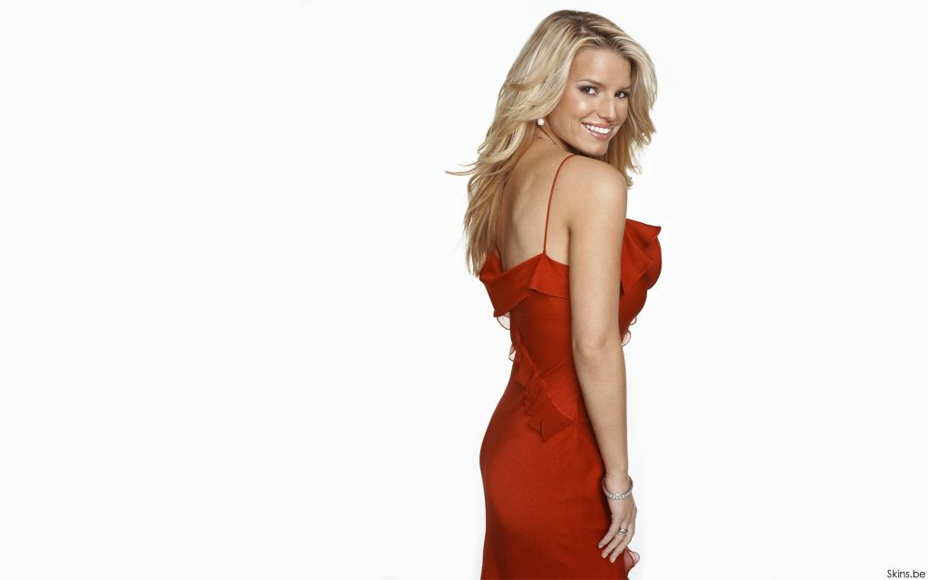 Jessica Simpson Widescreen Wallpaper