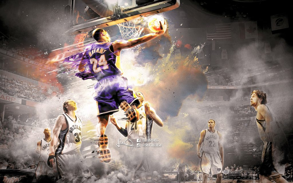 Kobe Bryant Widescreen Wallpaper