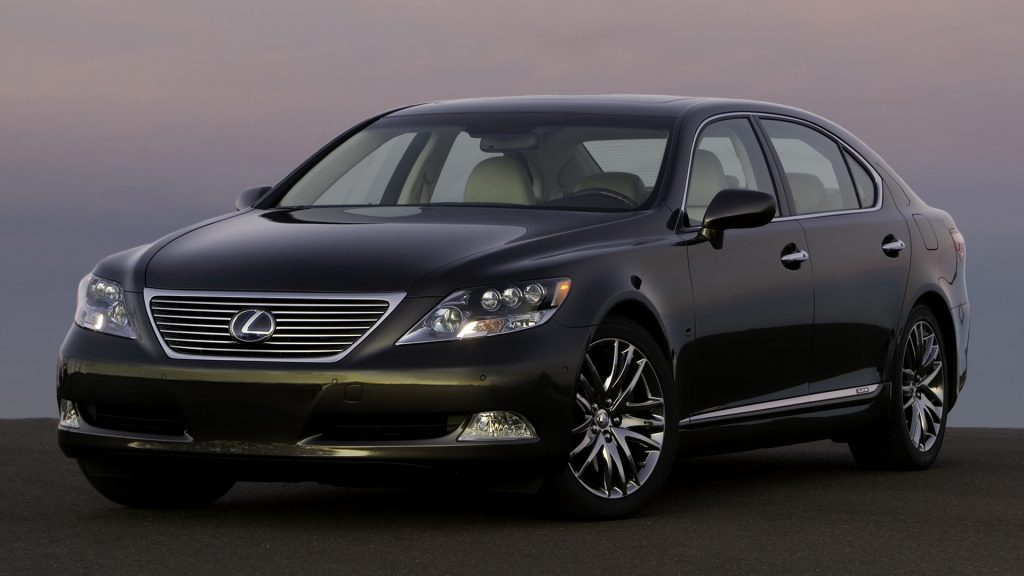 Lexus LS Full HD Wallpaper