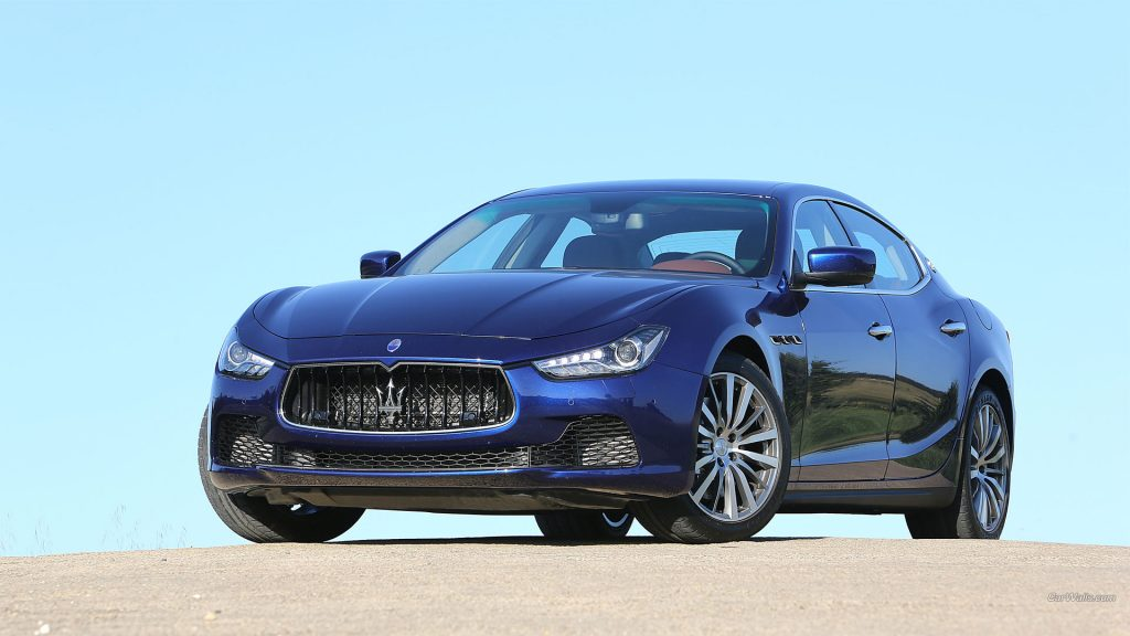 Maserati Ghibli Full HD Wallpaper