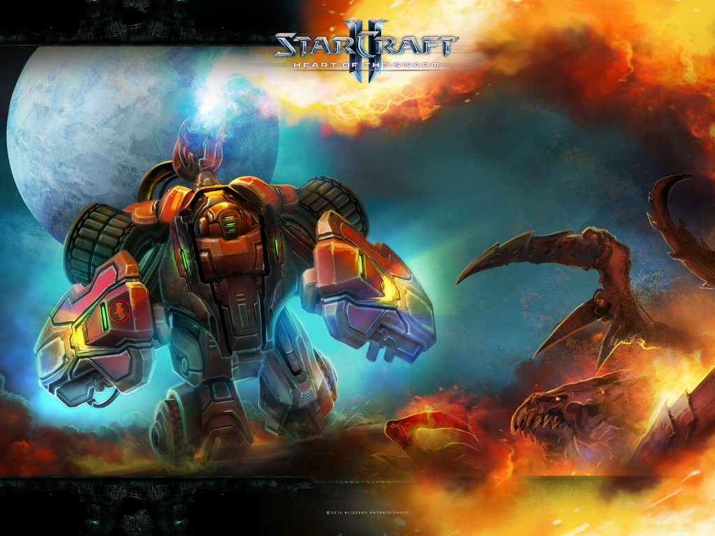 StarCraft II: Heart Of The Swarm Background