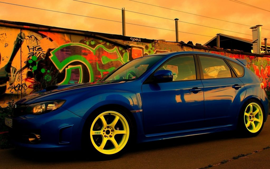 Subaru Widescreen Wallpaper