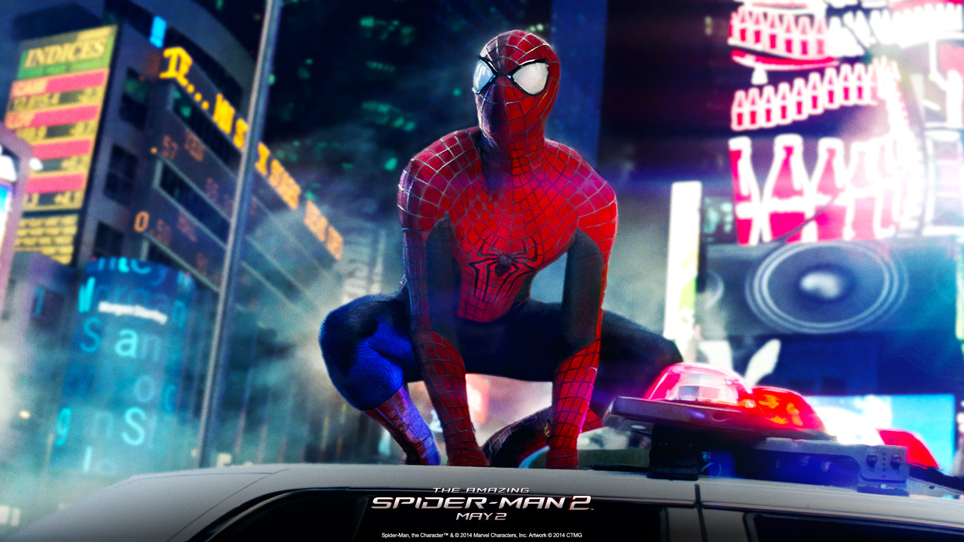 The Amazing Spider Man 2 Full HD Wallpaper
