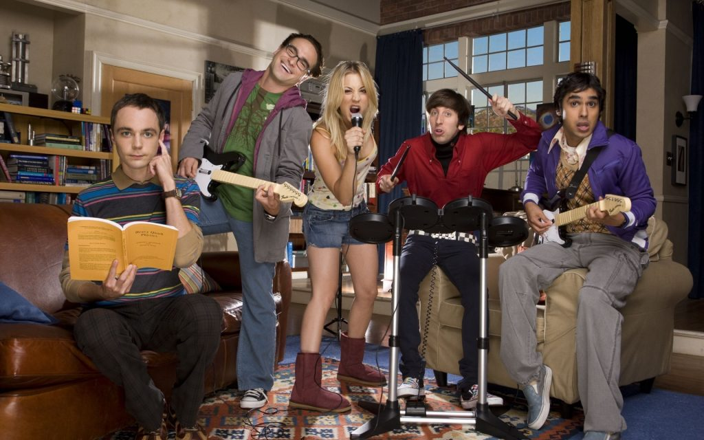 The Big Bang Theory Widescreen Wallpaper