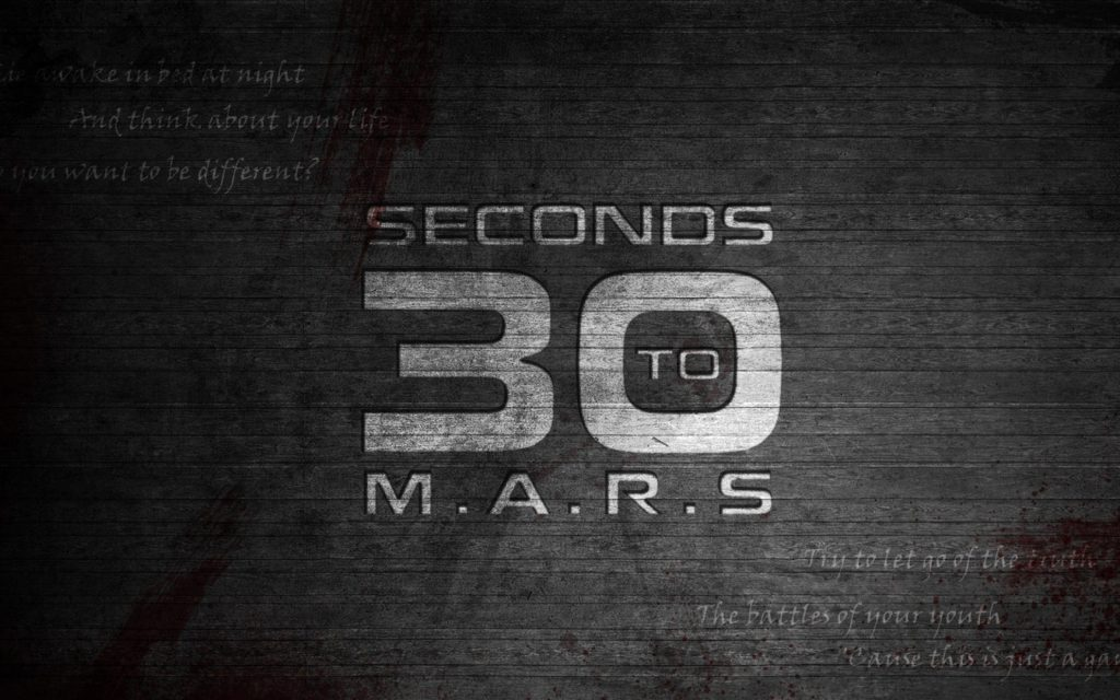 Thirty Seconds To Mars Widescreen Wallpaper