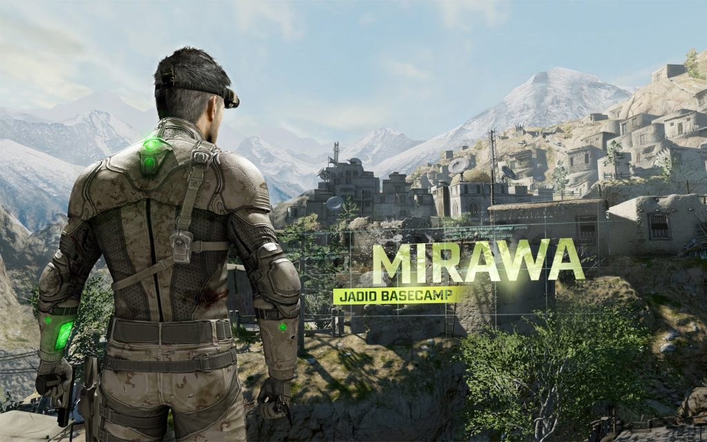 Tom Clancy's Splinter Cell: Blacklist Widescreen Wallpaper