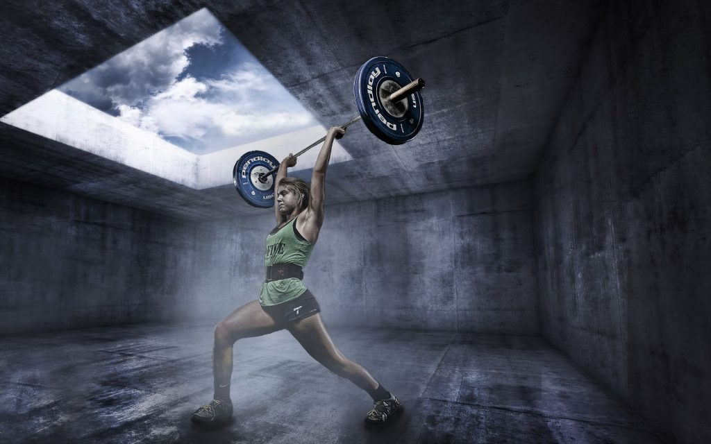 Weightlifting Widescreen Wallpaper