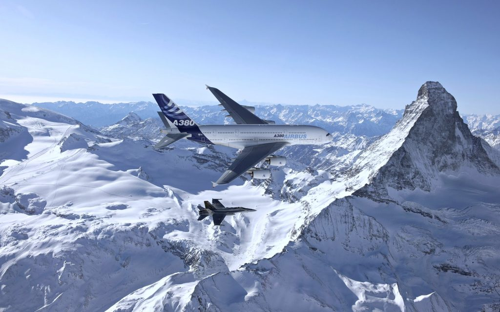 Airbus A380 4K Ultra HD Wallpaper