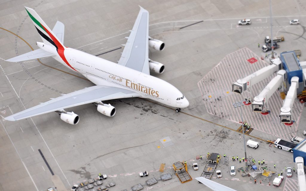 Airbus A380 Widescreen Wallpaper
