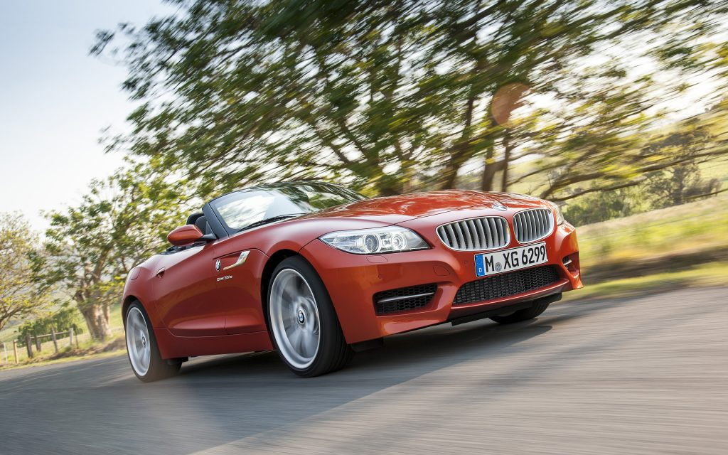 BMW Z4 Widescreen Wallpaper