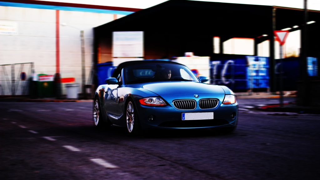 BMW Z4 4K UHD Wallpaper