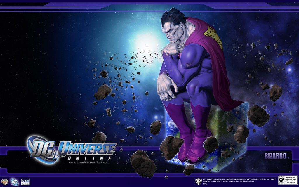 DC Universe Online Widescreen Wallpaper