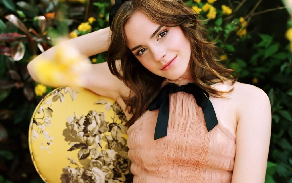 Emma Watson HD Widescreen Background