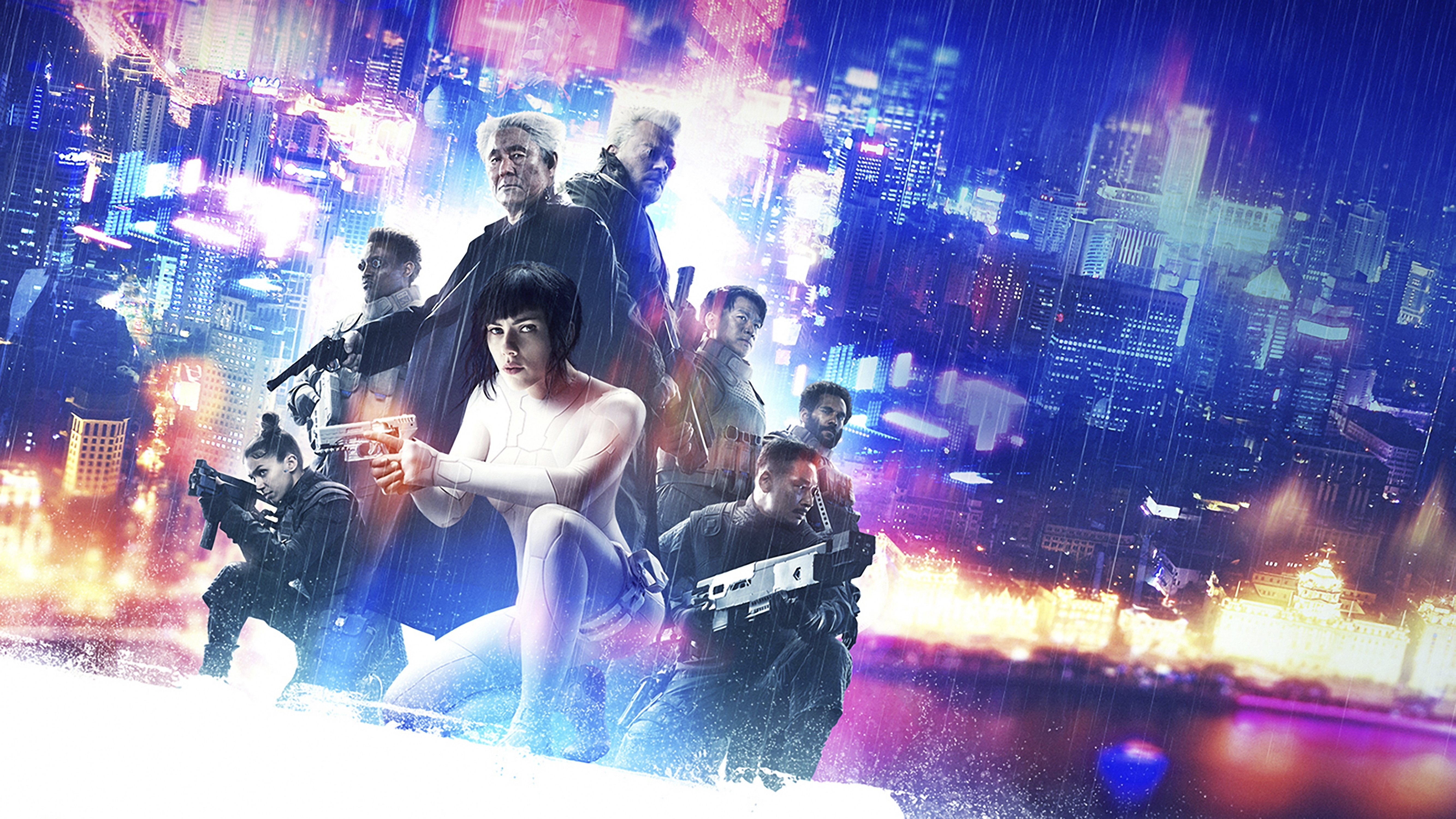 Ghost In The Shell (2017) Wallpapers, Pictures, Images
