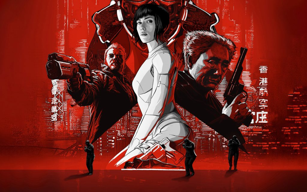 Ghost In The Shell (2017) Widescreen Wallpaper