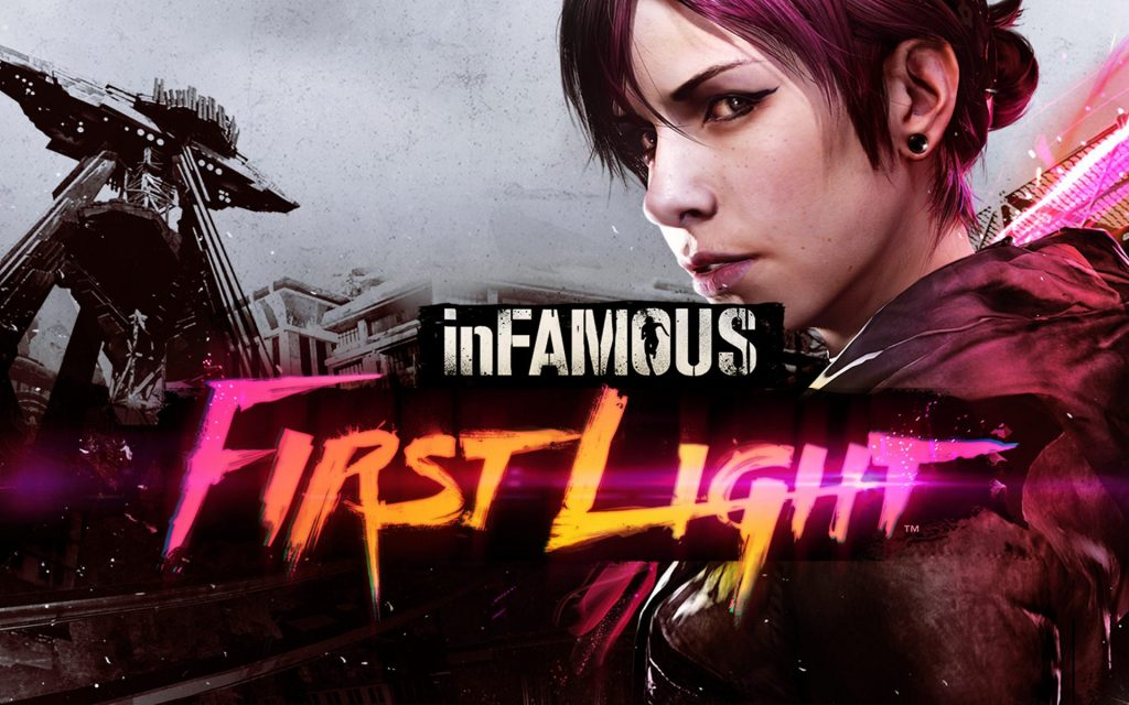 InFAMOUS: First Light Widescreen Wallpaper
