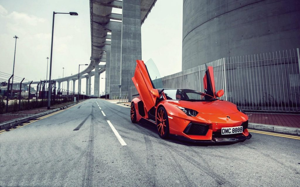 Lamborghini Aventador LP 700-4 Widescreen Wallpaper