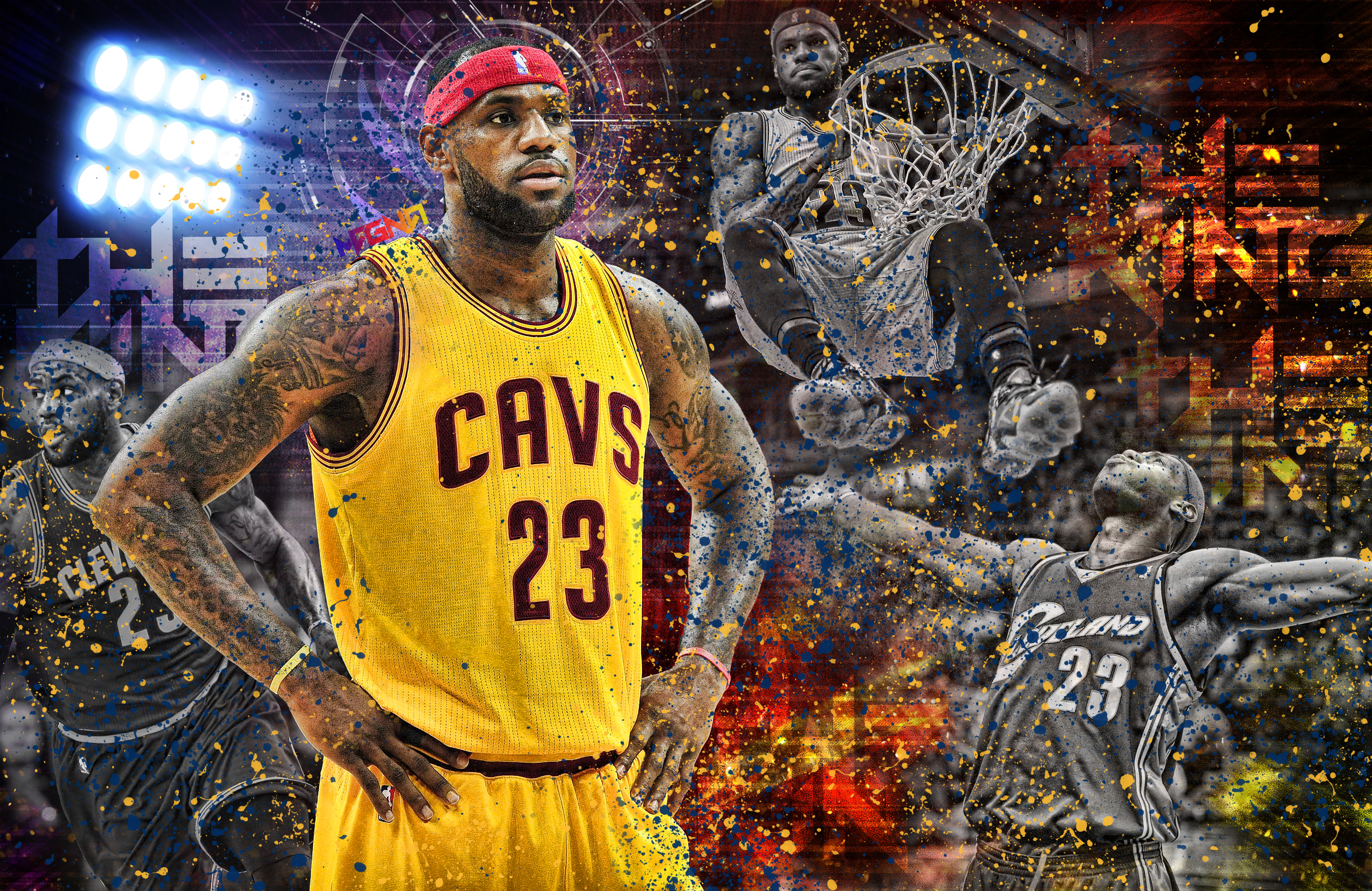 LeBron James Wallpapers, Pictures, Images