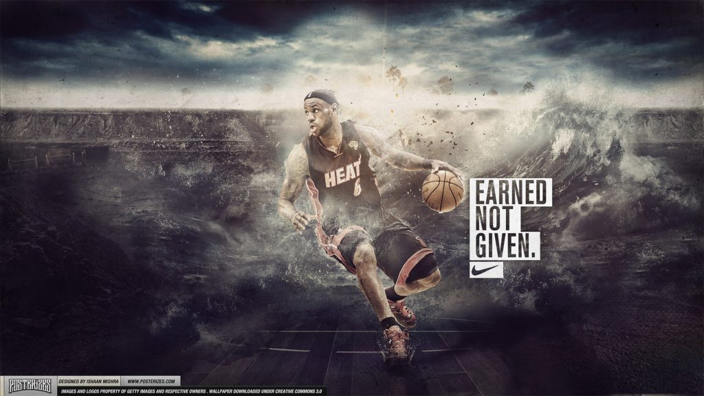 LeBron James Full HD Wallpaper