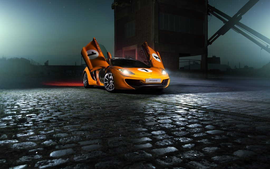 McLaren Widescreen Wallpaper